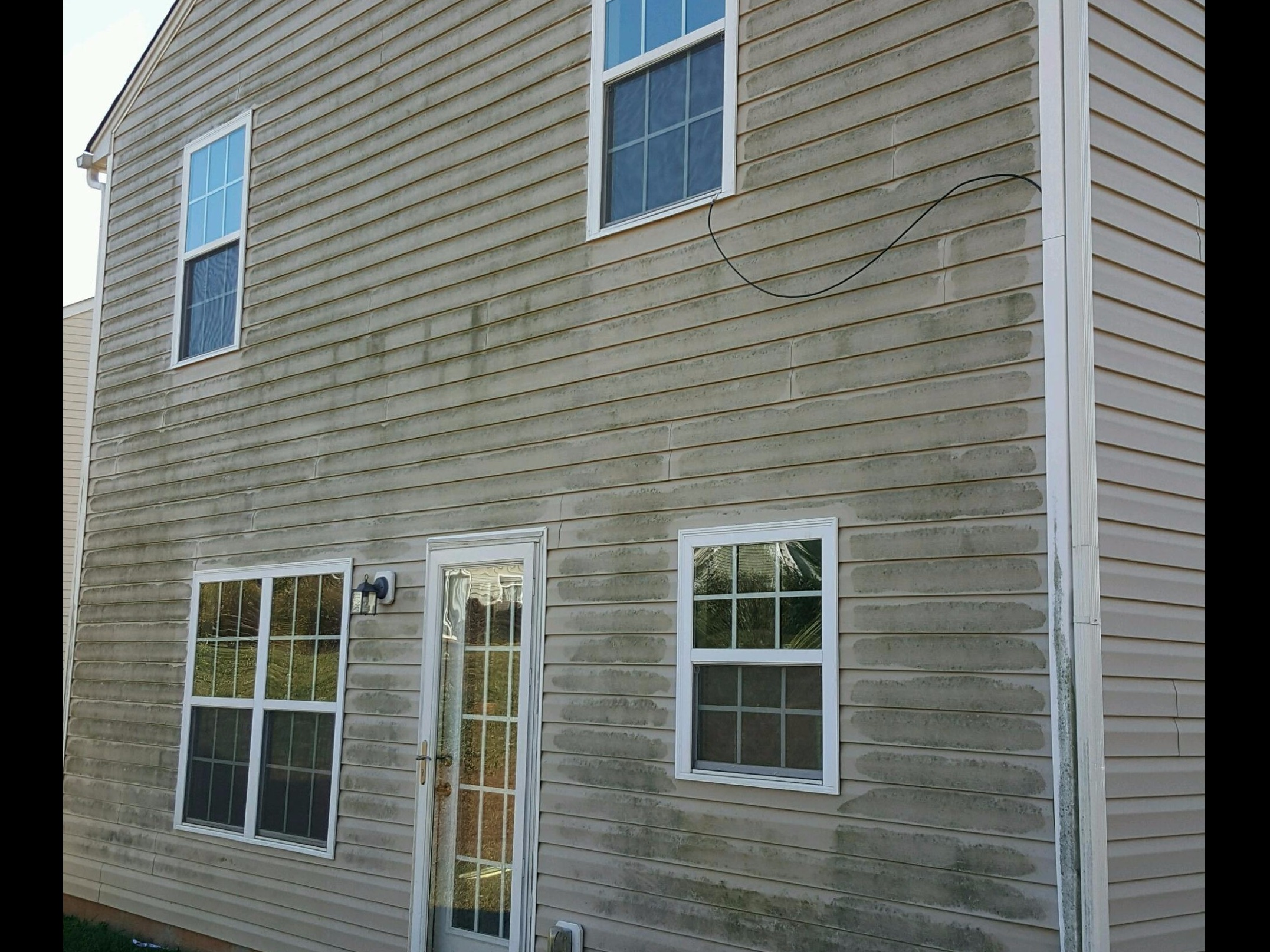 Vinyl Siding Driveway Gutter Cleaning More Cornelius Nc Ace Cleaning Services